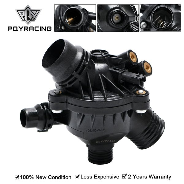 top popular Free Shipping 1PCs Car Engine Coolant Water Outlet Thermostat with Housing for BMW E90 330 E60 11537549476 Car Accessories THK01 2021
