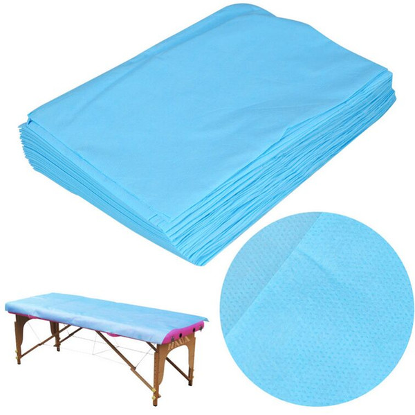 Waterproof Disposable Massage SPA Bed Sheet Table Cover Non-Woven Cotton 68.9'' x 29.5'' Beauty Salon Massage Sheet Cover