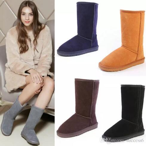 Hot Free shipping 2019 High Quality WGG Women's Classic tall Boots Womens boots Boot Snow Winter boots leather boot US SIZE 5---12
