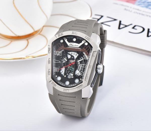 Phantom six pin run seconds quartz movement watch foreign trade hot selling high-quality manufacturers spot direct sale