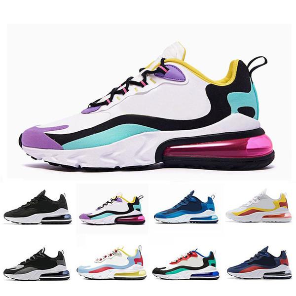 2020 реагируют мужчины кроссовки высшего качества BAUHAUS OPTICAL тройной черный модные женские мужские мужские спортивные дышащие спортивные кроссовки размер 36-45