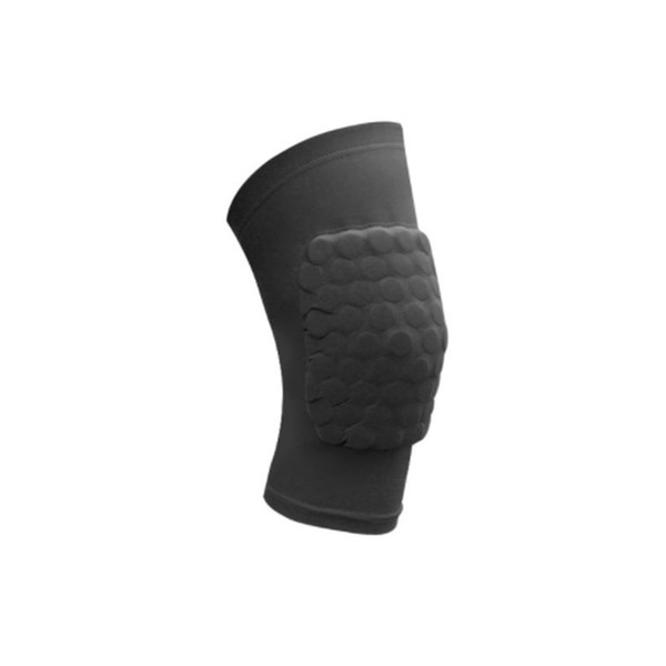 Short Honeycomb Basketball proof Breathable Short Knee Pads Outdoor Running Fitness Sports Knee Protectors Black