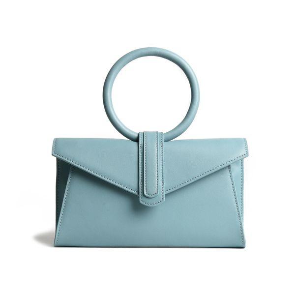 Женщины из натуральной кожи сумки бренда класса люкс кольцо Верхняя ручка Малый Корова кожа Crossbody сумка Candy натуральной талии сумка