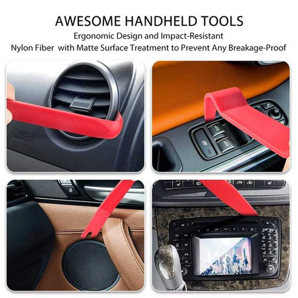 best selling Removal Tool Audio Hand Repair Tool Auto Car Interior Dashboard Stereo CD Assembly Disassembly Door Panel Fastener Kit