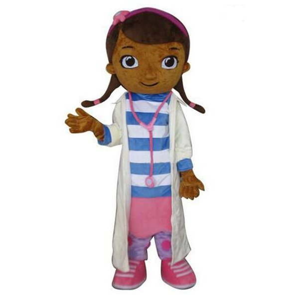 top popular Mascot Costumes Hot Sale Girl Doctor Costumes free shipping 2020
