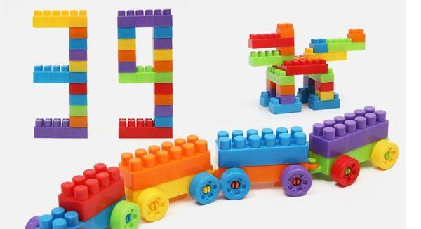 Bloques de construcción para niños juguetes plásticos 3-6 años