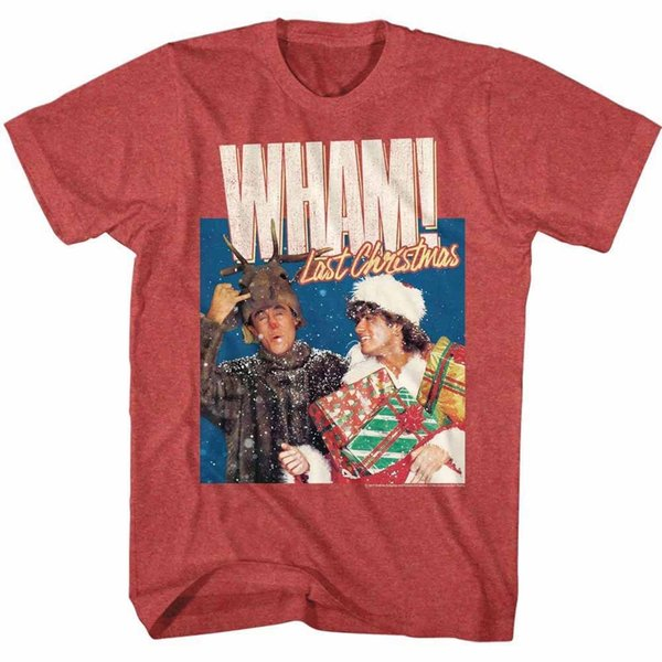Christmas Album Cover Art.Wham Last Christmas Album Cover Art Men S T Shirt Pop Music Merch George Michael Classic Quality High T Shirt Buy Online T Shirts Make Tee Shirts From