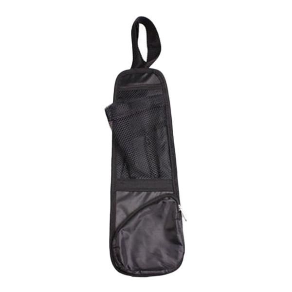 Durable Car Van Seat Side Storage Organiser Bag Tidy Storage Pouch Holder Black
