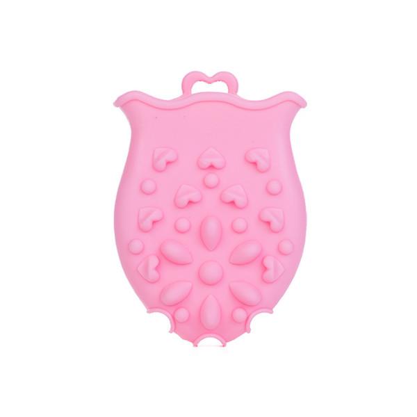 Hair Face Cleaning Comfortable Shampoo Brush Bath Brush Soft Silicone Massage Multi Use Baby Safe