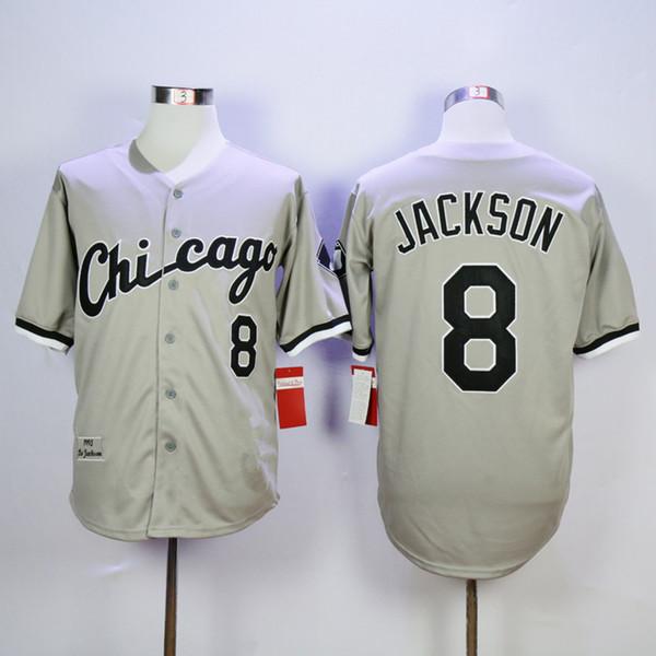 시카고 # 8 보 잭슨 그레이 빈티지