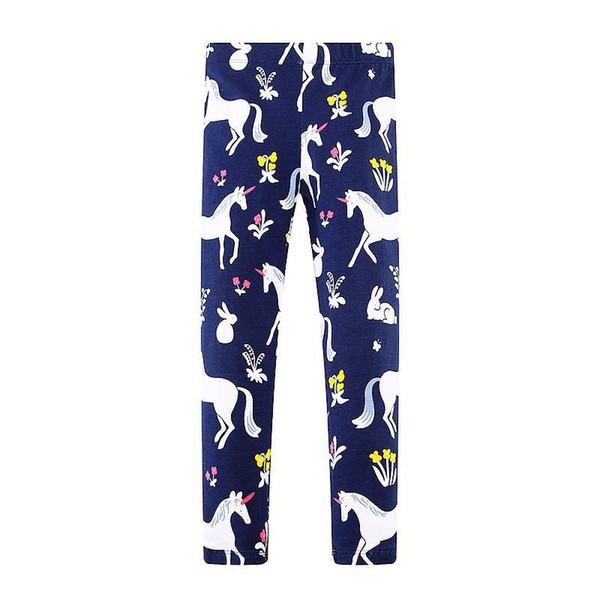 Baby Leggings for Girls Pants Mermaid Flamingo Animal Print Girls Leggings Children Trousers 2019 Kids Cotton Leggings Fille