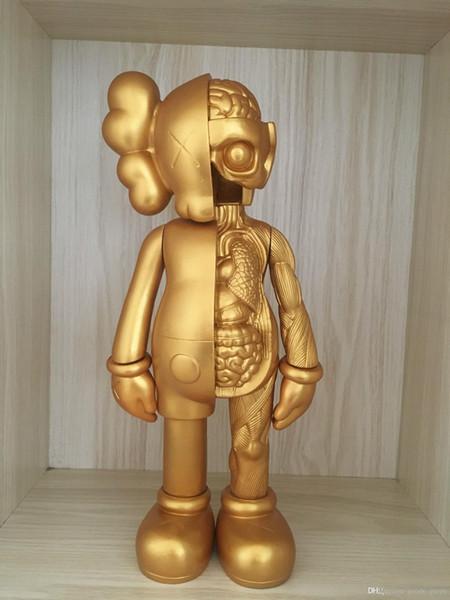 2019 16 pollici KAWS Dissected Companion originale falsi action figure giocattolo per i bambini Kaws giocattolo 37CM 008