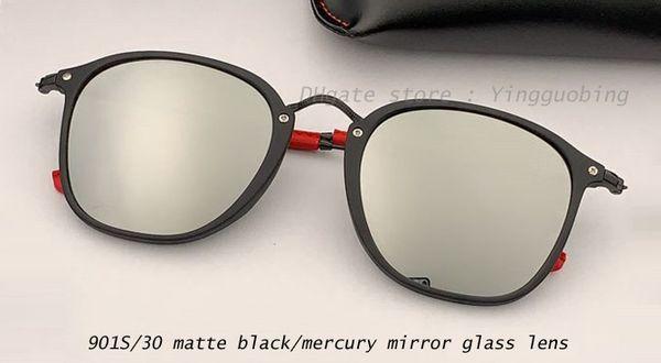 901S/30 matte black/mercury mirror lens
