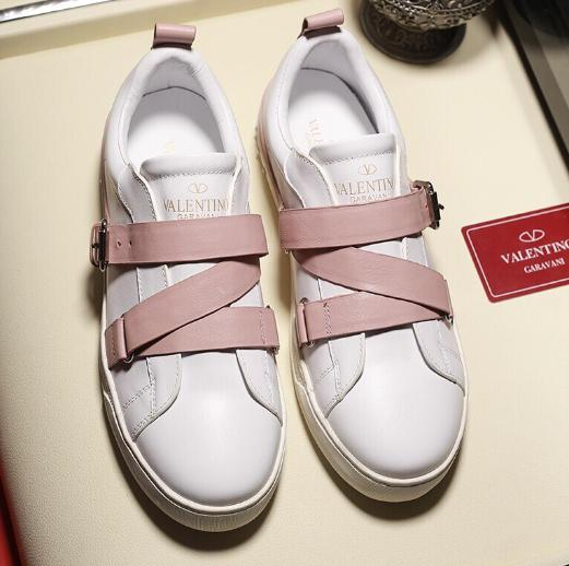 Valentino SNEAKERS NEW Men women designers shoes Portofino Sneakers In Printed leather white ace mens luxury Shoes 0245