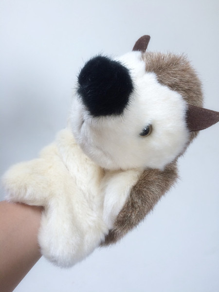 27cm Hedgehog Carton Dolls Animal Hand Puppet Toys cute Plush Puppets Kids Children Finger Story Early Teaching Toy New Gifts