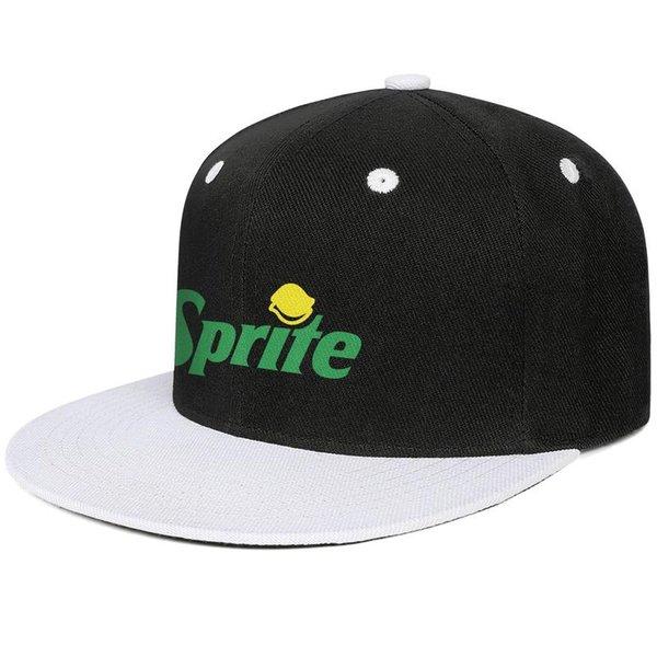 Sprite Zero Soda Soft Drink men's Flat-along baseball hat stylish adjustable women's dance cap trendy Hip-hop cap mesh summer hats