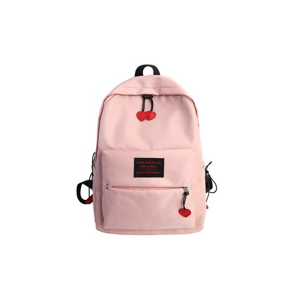 Retro Style Girl Simple Campus Backpack Female Ins Large Capacity Travel Backpack College Student Book Laptop Shoulder Bag