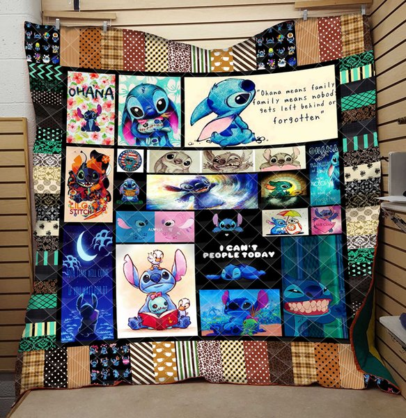 stitch printed by 3d digital printing and cotton summer cool quilt air conditioner washed by water factory - from $25.67