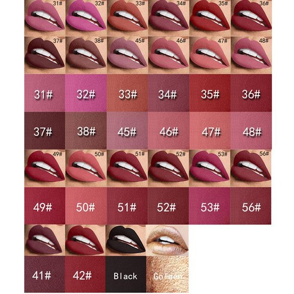 Original Miss Rose Nude Lipstick 8 colors Waterproof Vampire Brown Beauty Baby Lips Matte Lipstick Makeup Comestics Wholesale
