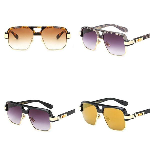 Leopard Print Frauen Sonnenbrillen Big Half Frame Mann Sunglass Sommer Neueste Art Eyewear Fahrrad Sport Hohe Qualität Marke 24fd D1