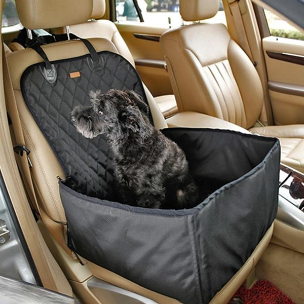 Portable Travel Detachable Pet Dog Car Seat Cover Basket Waterproof Nylon Dog Car Seat Pad Mat For Pet Cats Seats