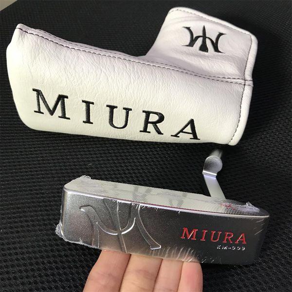 MIURA KM-009 Putter cabeça aço carbono forjado With Full CNC Milled Marca clubes de golfe Putters Sports (O preço é cabeça + headcover, sem eixo)