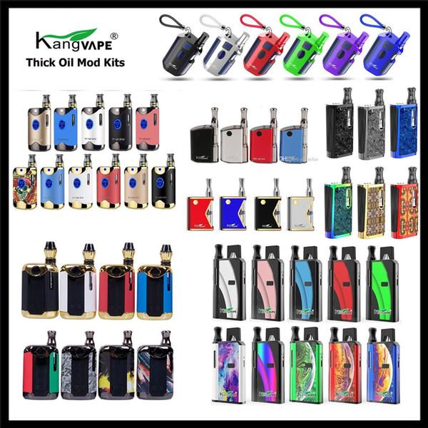 أصيلة Kangvape TH710 TH-710 TH420 V1 TH-420 II V2 Mini 420 K Box Mod Kit مع 0.5ML خرطوشة لفائف السيراميك 100 ٪ الأصلي