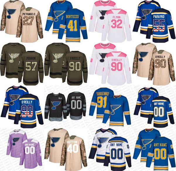 best authentic b69a9 f5aba 2019 2019 Third Custom Schwartz O Reilly Dunn St. Louis Blues Men Womens  Youth Vladimir Tarasenko Edmundson Pink Hockey Jerseys Stitched XS 5XL From  ...