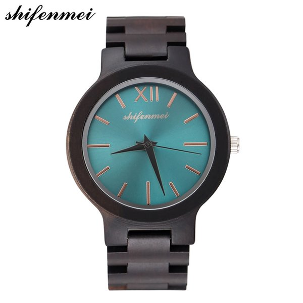 shifenmei S5506  Wooden For Men / women Wood Watch Fashion Wristwatch Antique Unique Wristwatch Quality watches