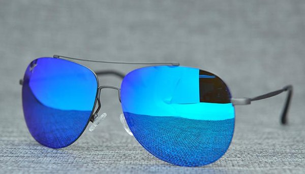 grauen Rahmen blau Objektiv