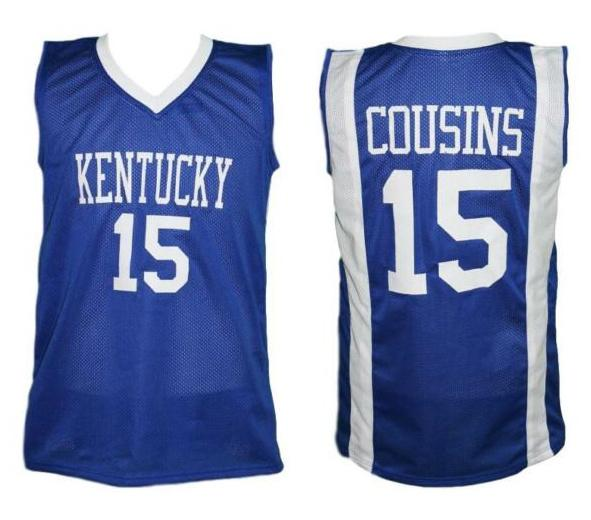 d716b255ec7 Demarcus Cousins  15 Kentucky Wildcats College Retro Basketball Jersey  Men s Stitched Custom Any Number Name