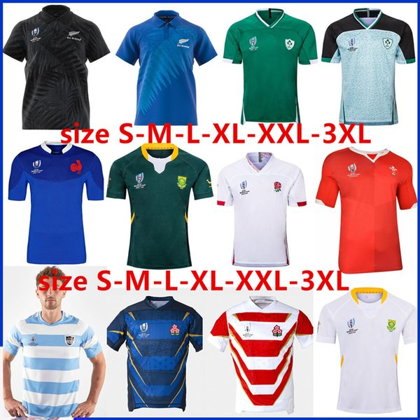 best selling JAPAN HOME RUGBY WORLD CUP 2019 JERSEY 2019 2020 SCOTLAND Rugby ITALY Jerseys Australia Fiji Samoa rugby jersey Size S-3XL