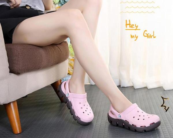 Marka Moda yaz timsah Yeni Kaymaz Delik ayakkabı Kalochi 2.5 Caroban ayakkabı Çift erkekler Plaj ayakkabıları crocss kadınlar M5-M10 sandalet