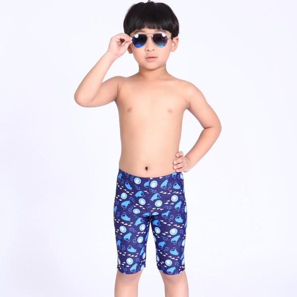Free Shopping Meninos Natação Troncos Crianças Swimwear Briefs Impressão de Verão Crianças Swimsuit Menino Maiô para 4-13 Anos de Idade