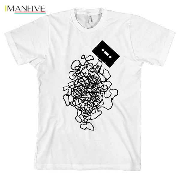 Кассеты Tangled Up ретро тенниска Unwound Tee * ВСЕ РАЗМЕРЫ NEW * Уличная Harajuku печати Хлопок смешно футболки рубашки мужчины