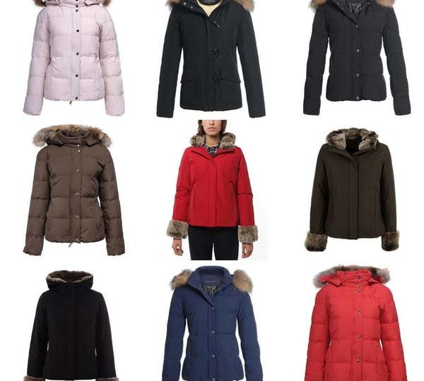 % 90 Açık Kalın Parkas Coat aşağı Yeni Moda Kadınlar Arktik Anorak Aşağı ceket Kadın Kış kaz sıcak dış giyim ceket Womens