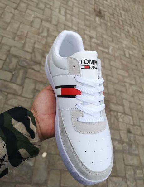2019 Tasarımcı Lüks Marka Sneakers Loafer'lar Moda Erkek Kadın Low Cut Rahat Deri Ayakkabı Unisex Zapatos Yürüyüş Ayakkabıları 36-44