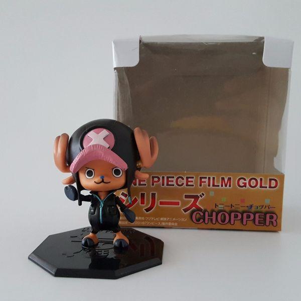 Tek Parça Aksiyon Figürü Tony Tony Chopper PVC 70mm Film Versiyonu Tek Parça Anime Model Oyuncaklar Chopper Onepiece-Aksiyon-Rakamlar