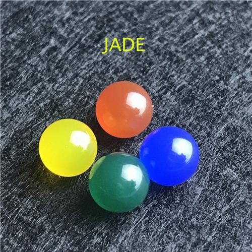 Jade 10 pcs / set Mix 6.5mm
