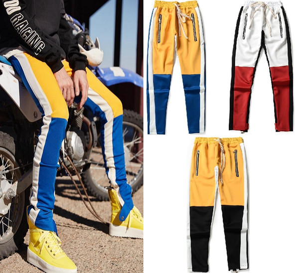 Free shipping on the new men's and women's style street sweat pants motorcycle sweat pants for the summer of 2019