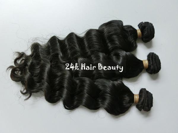5A Brazilian Virgin Hair Extensions 3 Bundles Brazilian loose wave Hair Unprocessed Vergin Human Hair Weft