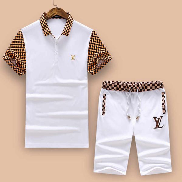 Diseñador para hombre Chándales Cartas de lujo para hombre Trajes de chándal impresos Moda para hombre Camiseta informal Trajes de verano Ropa de deporte Trajes.