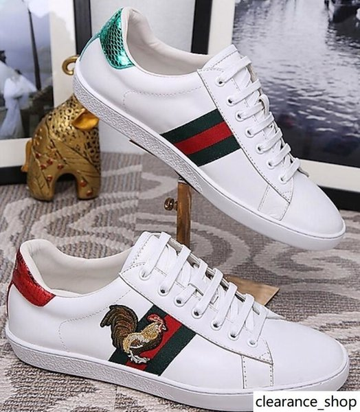 duping520 MEN FORMATEURS OLYMPIQUE SNEAKERS CHAUSSURES COURSE A PIED Ace brodé baskets Mocassins Espadrilles Pilotes Sneakers chaussures Flats