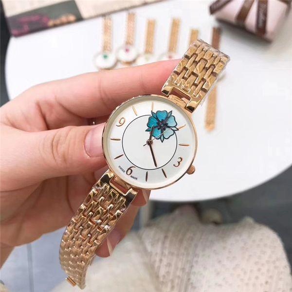 Горячая новая модель мода роскошные женские часы с бриллиантом из розового золота специальный дизайн Relojes De Marca Mujer леди платье часы кварцевые наручные часы