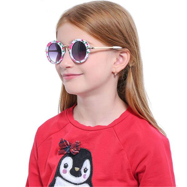 2018 Baby Girls Sunglasses Brand Designer Uv400 Protection Lens Children Sun Glasses Cute Kids Sunglasses Cool Goggles