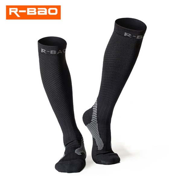 Night Running Reflective Compression Socks Sport Fußball Fußball Running Marathon Socken Quick-Dry Cycking 7704