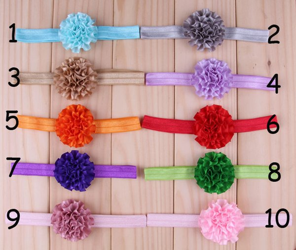 20 colors baby girl candy color big bow headband Design Hair bowknot Children solid color hairbands Girls Hair exquisite Baby Hair Accessory