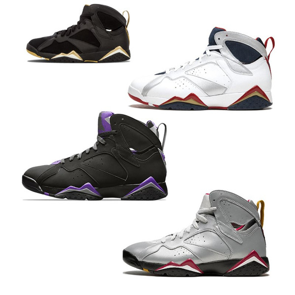 2109New JumpmanBunny Patta X7 sports Shoes Ray Allen Olympic 7s History of Flight Hare mens Raptor basketball Sneakers