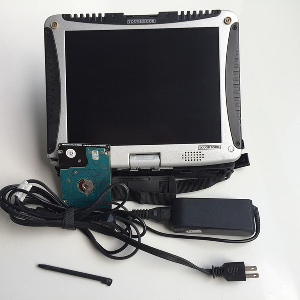 dhl free alldata auto repair all data 10.53 and mitchell 2in1 with hdd 1tb installed in laptop toughbook cf19 touch screen