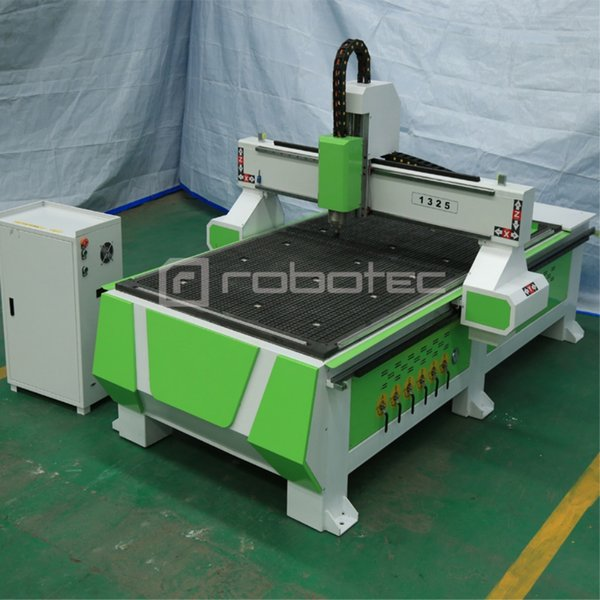 price 3kw spindle router machine cnc 1325 vacuum table and t-slot combined 1300*2500mm cnc router for furniture production